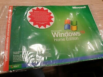 Windows XP Home Edition 2002 Microsoft CD con product key ITALIANO comprar usado  Enviando para Brazil