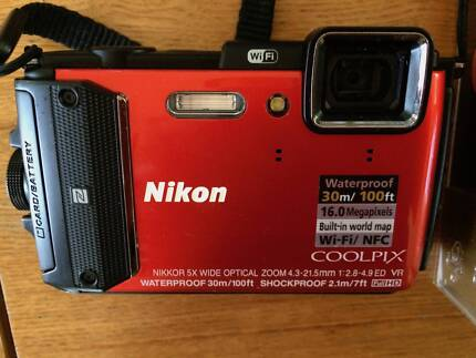 Nikon AW130 Underwater Camera (Waterproof)