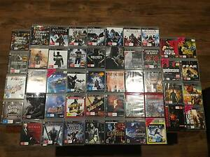 A Decade of PS3 Gaming - 47 Games & 2 Controllers Burleigh Waters Gold Coast South Preview