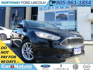 2015 Ford Focus SE | REAR CAM | LOW KM | BLUETOOTH |