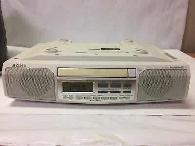 Sony ICF-CD513 Under Cabinet Counter Clock Radio AM FM CD Player