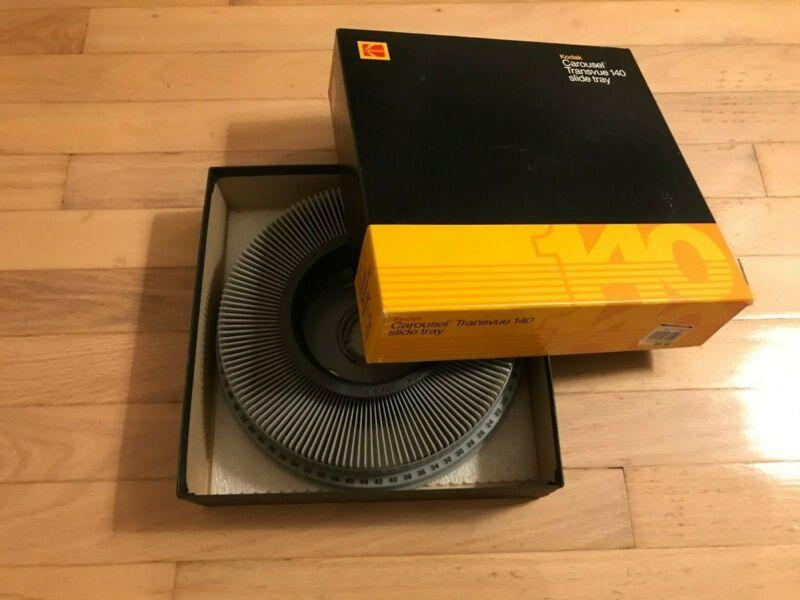 Kodak Transvue 140 slide tray carousel