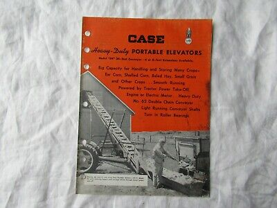 Case Eh Portable Elevator Conveyor Brochure
