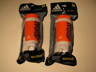 Lot 2 Sets NEW Adidas Ace Pro Youth Childrens Soccer Shin Guard Medium 4'7-5'2