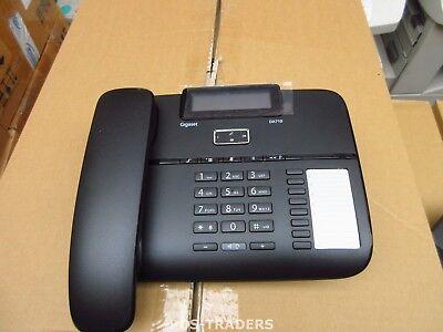 Siemens Gigaset DA710 schnurgebundene Telefon analog schwarz +HANDSET NEW NO BOX