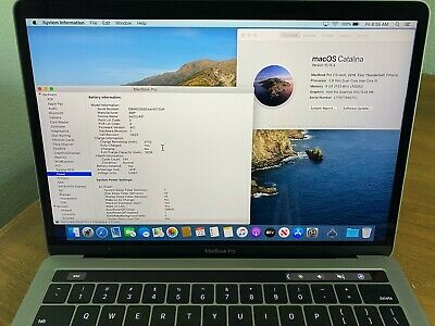 "Apple MacBook Pro Touch Bar 2016 13"" Laptop 256GB 8GB RAM Space Gray, Excellent!"