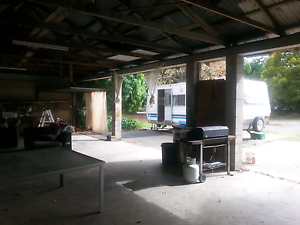 Caravan and large shed Burleigh Heads Gold Coast South Preview