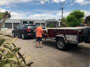 Eagle Cherokee Off Road Camper Trailer Belair Mitcham Area Preview