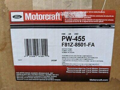 Motorcraft PW455 Water Pump Ford F-350 7.3L Turbo Power-stroke Diesel (Open-box)