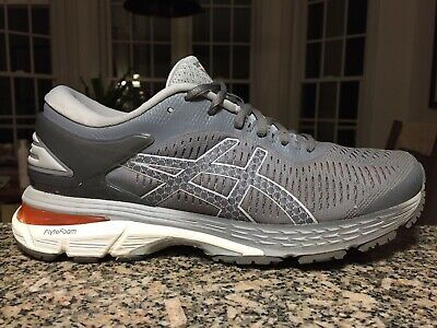 ASICS Gel Kayano 25 Women's Running Shoes Gray Carbon 1012A026 Size 9