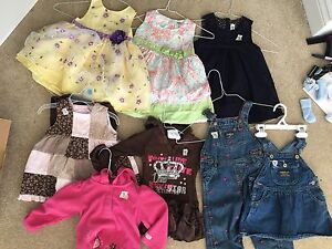 Girls size 18 month clothing