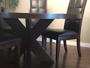Urban barn dining table chairs sideboard