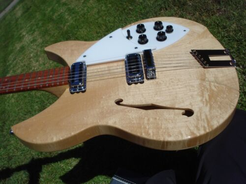 Rickenbacker 1997 RM Rose Morris Model Mapleglo Near MINT 44 HD Pics