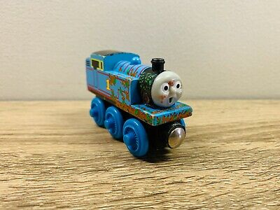 Mud Covered Muddy Thomas The Tank Engine & Friends Wooden Railway Trains