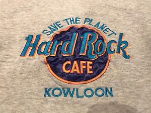 Save the Planet Hard Rock Cafe Kowloon Crew Neck Sweater