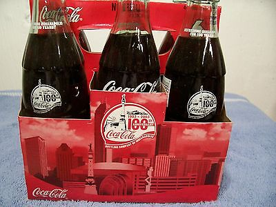 Ccbc 100 Years Indianapolis  Indiana  6 Pack  2004   Coca Cola Bottles