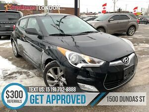 2017 Hyundai Veloster | 1OWNER | CAM | HEATED SEATS