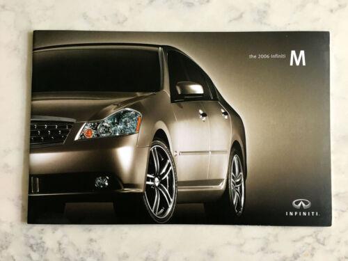 2006 Infiniti M M35 M45 Prestige Original Dealer Sales Brochure