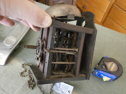 Clock Wall MOVEMENT Black Forest German Striking on Bell Not Postmans spares
