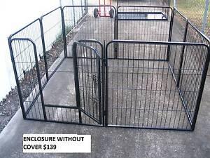 BRAND NEW Pet Dog Exercise Encl Fence Play Pen Run-81cmx8 PANEL Kingston Logan Area Preview