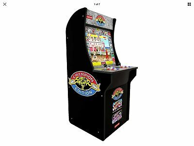 Arcade1up Street Fighter 2 Retro II Arcade 1UP NEW 3 games Championship Edition