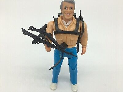 """1983 The A-Team Good Guys, 6"""" Action Figure, HANNIBAL with Weapons, complete"""