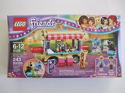 41129 Lego Friends Amusement Park Hot Dog Van 243 Pieces  Sealed New In Box