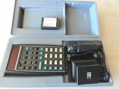 New Other Rare HP 35 Calculator W/Hard Case, Leather Case, Charger + New Batt.
