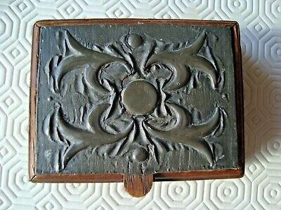 NICE LITTLE PEWTER AND WOOD BOX - ARTS AND CRAFTS