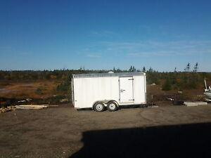 16' cargo trailer