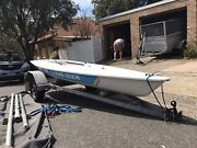 Laser Dinghy With Registered Trailer Wollstonecraft North Sydney Area Preview