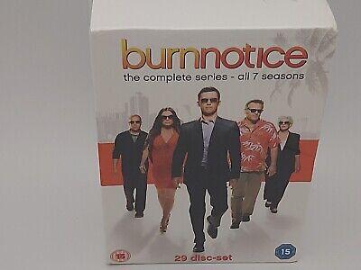 Burn Notice The Complete Series 1-7 DVD Box Set - Brand New...