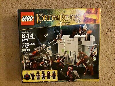 NEW LEGO Lord of the Rings Uruk-hai Army (9471), LOTR
