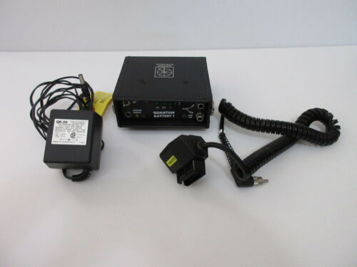 Quantum Instruments Quantum Battery 1 Power Pack with Charger & Adapter Cord