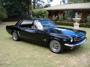 1965 Ford Mustang Coupe factory raven black A code 4 barrel 289v8 Parafield Gardens Salisbury Area Preview
