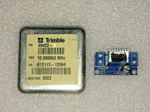 Trimble 49422 10MHz Sine Wave OCXO Crystal Oscillator +12V Easy Kit EFC