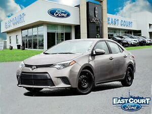 2015 Toyota Corolla LE|Low KM|Excellent Heating|Gas Saver|$59/we