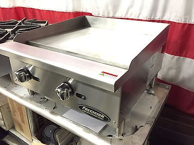 New 24 Griddle Flat Grill Commercial Restaurant Heavy Duty Nat Or Lp Gas