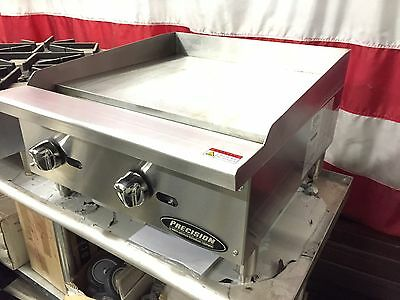 New 24 Flat Griddle Grill Commercial Restaurant Heavy Duty Nat Or Lp Gas