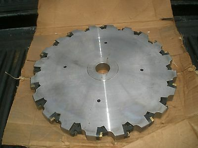 15 Indexable Shell Arbor Mount Horizontal Milling Cutter 1 Thick