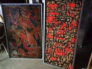 Original Abstract Large pieces