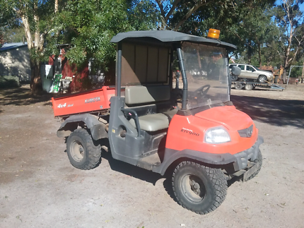 Kubota farm buggy