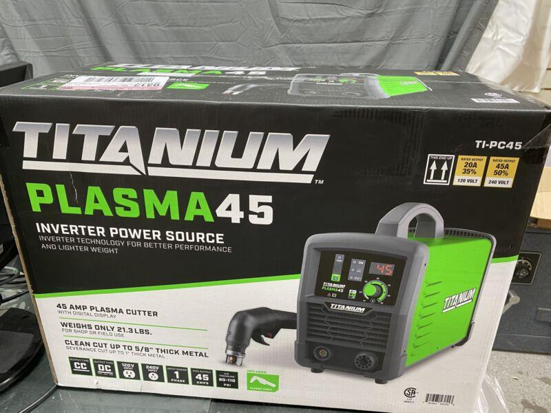 Titanium Plasma 45 Inverter Power Source TI-PC45