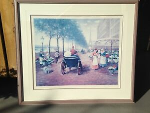 """""""Flower Market in Paris"""" by Chen"""