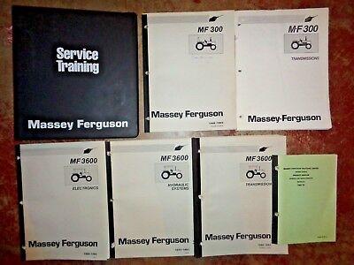 Massey Ferguson 200 300 3600 Series Tractors Service Training Manuals Binder