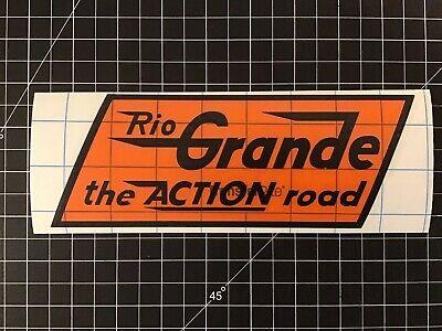 Denver And Rio Grande Western Railroad Decal - The Action Road Denver And Rio Grande Western Railroad