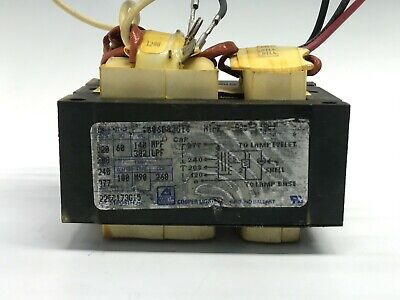 Cooper Lighting 1006d82g16 Sodium Magnetic Ballast 100w 120-277v 60 Hz