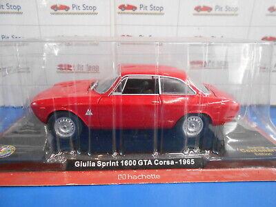 Hachette Alfa Romeo Giulia Sprint 1600 GTA Corsa 1965 1/24