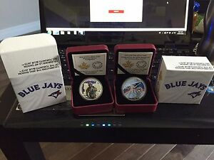 40th season Toronto Blue Jays 1oz fine silver coin. Stratford Kitchener Area image 1
