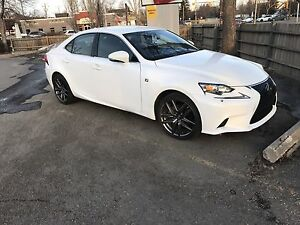 Like New 2015 Lexus IS250 AWD with F-Sports package